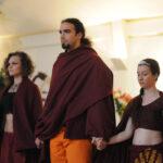 Buddha élete színjáték a Főiskola diákjainak előadásában