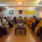 Az Egyház és a Főiskola delegációja a magyarországi vietnami buddhista közösség képviselőivel látogatást tett Dél-Vietnam buddhista szervezeteinél.