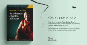 Könyvbemutató – Őszentsége a 14. dalai láma: Az univerzum egyetlen atomban